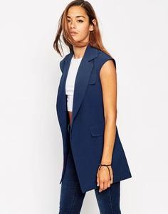 Куртка без рукавов в стиле милитари ASOS - Темно-синий