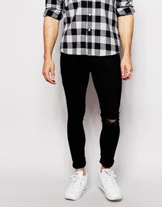 Супероблегающие джинсы Antioch Extreme - Черный