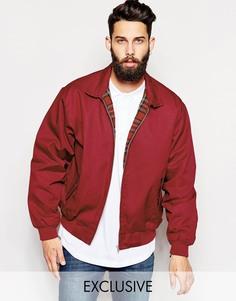 Куртка-пилот Харрингтон Reclaimed Vintage - Красный
