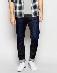 Темные эластичные джинсы скинни Diesel Tepphar 842G - Темно-выбеленный