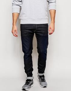 Темные стретчевые джинсы скинни Replay Hyperflex Jondrill - Темно-синий цвет