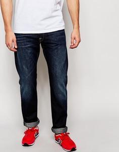 Темные прямые джинсы Replay Waitom 3D - Темный 3d wash