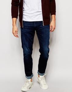 Эластичные темные джинсы скинни Replay Jondrill - Темно-выбеленный