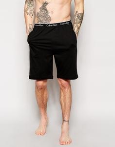 Трикотажные шорты для дома классического кроя Calvin Klein One - Черный