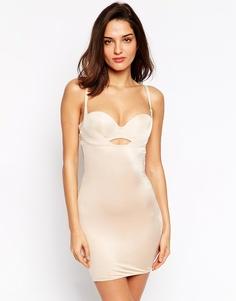 Корректирующее платье под любой бюстгальтер Marie Meili Shape Perfection - Телесный