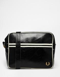 Классическая сумка почтальона Fred Perry - Черный