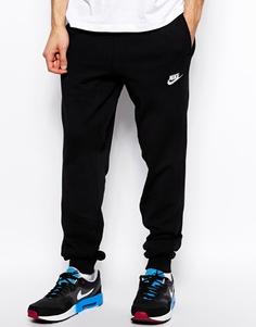 Спортивные штаны с манжетами Nike AW77 545329-010 - Черный