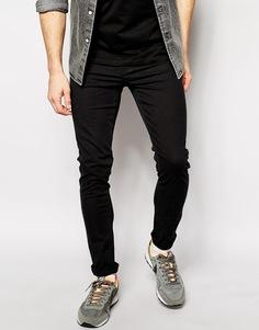 Ультразауженные черные джинсы скинни Cheap Monday - Черный