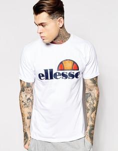 Футболка с классическим логотипом Ellesse - Белый