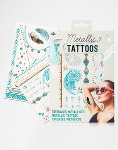 Переводные татуировки с эффектом металлик - Металлик Beauty Extras