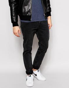 Черные джинсы слим Dr Denim Clark - Черный