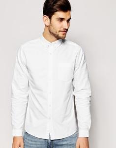 Белая рубашка с длинными рукавами ASOS - Белый