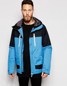 Водонепроницаемая куртка колор блок CLWR - Wer blue