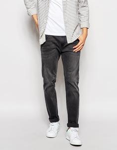 Серые стретчевые джинсы слим ASOS - Умеренный серый