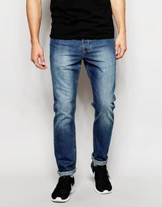 Узкие джинсы ASOS - Умеренный синий