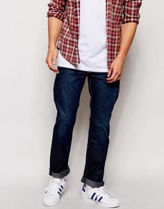 Темные прямые джинсы G-Star 3301 - Синий