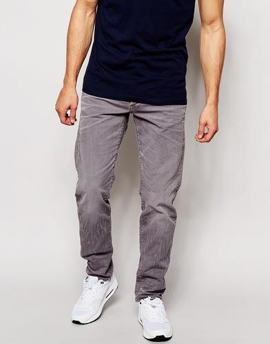 Зауженные джинсы из саржи G‑Star Radar - Серый