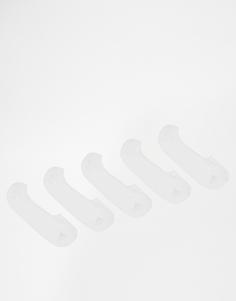 5 пар носков‑подследников Urban Eccentric - Белый