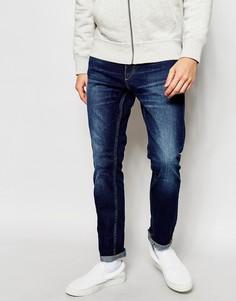 Темные джинсы скинни Jack & Jones - Темный синий