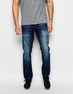 Темные свободные джинсы Jack & Jones - Темный синий