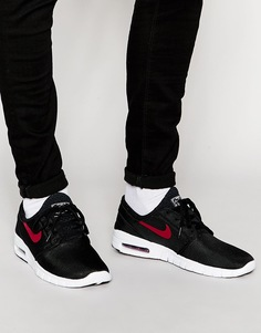 Кроссовки Nike Stefan Janoski Max 631303-060 - Черный
