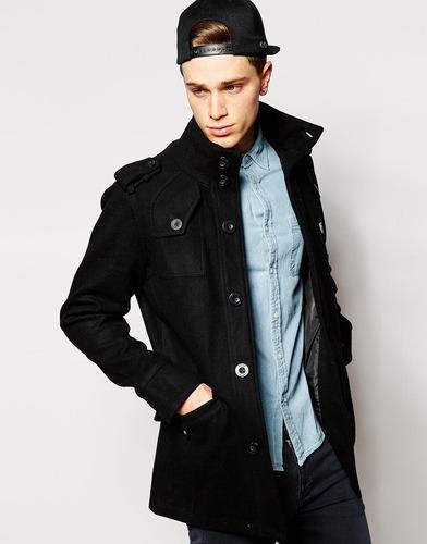 Шерстяное пальто Fly 53 - Черный