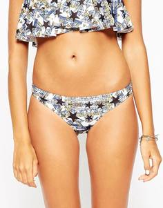 Бразильские плавки-бикини со звездочками ASOS - Звезды и животный принт