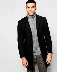 Шерстяное пальто Esprit - Черный