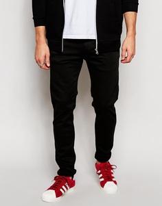 Черные стретчевые джинсы слим Replay Hyperflex Anbass - Черный