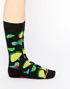 Высокие носки Stance Bite Me - Черный