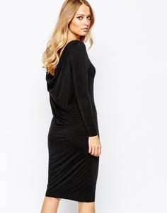 Платье с длинными рукавами Y.A.S Mariann - Черный