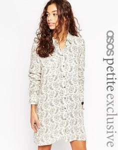 Платье-рубашка с принтом пейсли ASOS PETITE - Пейсли