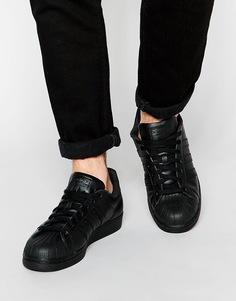 Кроссовки adidas Originals Superstar AF5666 - Черный