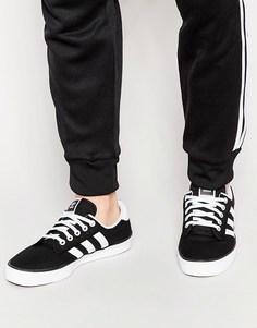 Холщовые кроссовки Аdidas Originals Kiel D69233 - Черный