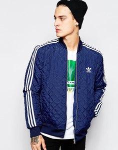 Стеганая куртка Adidas Originals AB7860 - Темно-синий