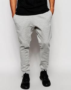 Зауженные джоггеры Nike [#0]}-063 - Серый