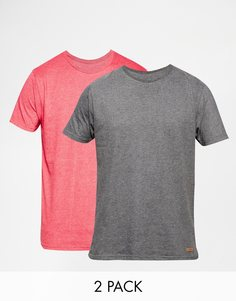 2 футболки Brave Soul - Красный