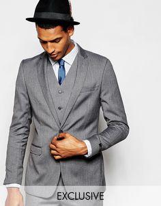 Пиджак с шевронным узором Feraud - Серый