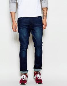 Суженные книзу темные джинсы Wrangler Jeans Originals Bostin - Truck stop
