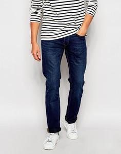Классические синие джинсы слим Lee Daren - Синий Blue Source