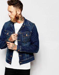 Джинсовая куртка с эффектом поношенности Lee Rider - Favourite worn