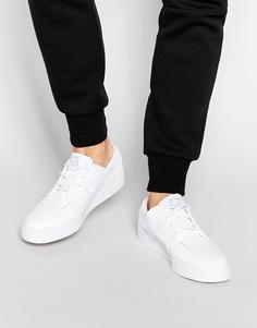Кожаные кроссовки Nike SB Stefan Janoski 616490-110 - Белый