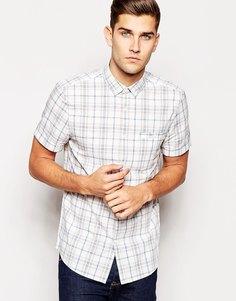 Рубашка в клетку с короткими рукавами Jack Wills - Синий