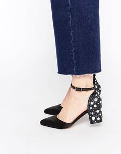 Туфли на каблуке ASOS SHOOTING STAR - Черный