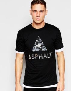 Футболка с логотипом Asphalt Yacht Club - Черный