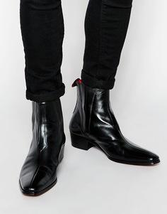 Кожаные ботинки челси Jeffery West - Черный