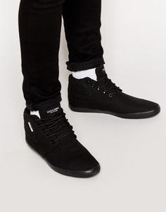 Парусиновые кроссовки Jack & Jones Vertu - Черный
