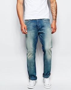 Выбеленные джинсы скинни Hilfiger Denim Greenland Vintage - Синий