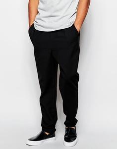 Спортивные штаны с высоким содержанием шерсти Wood Wood - Черный