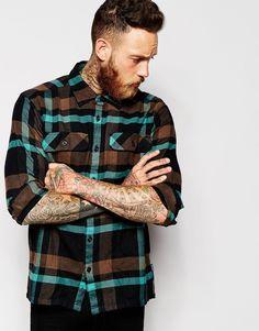 Свободная фланелевая рубашка в клетку Patagonia - Comstock